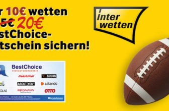 Interwetten Bonus-Deal