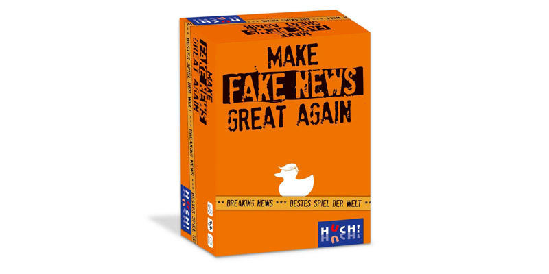 "Partyspiel ""Make Fake News Great Again"""