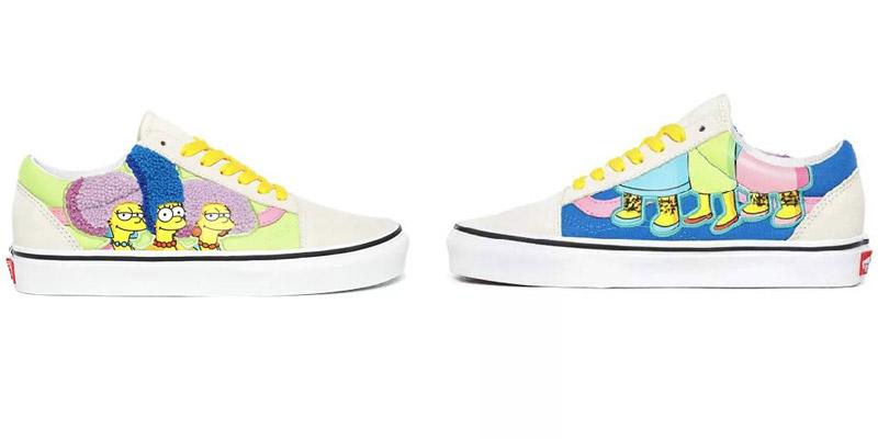 The Simpsons Vans