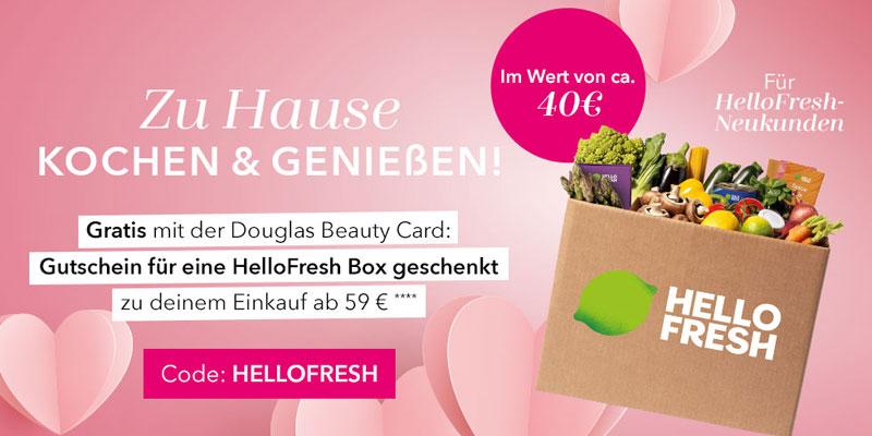 Douglas HelloFresh Gutschein