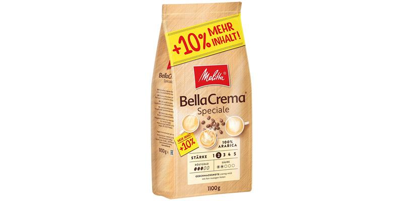 Melitta BellaCrema Speciale Kaffeebohnen
