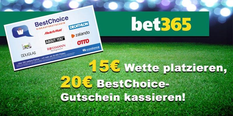 bet365 Bonus-Deal