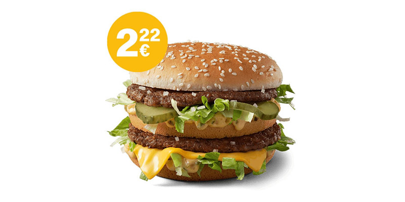 McDonalds Big Mac Aktion