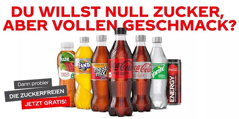 Coca Cola Zuckerfrei Probierwochen