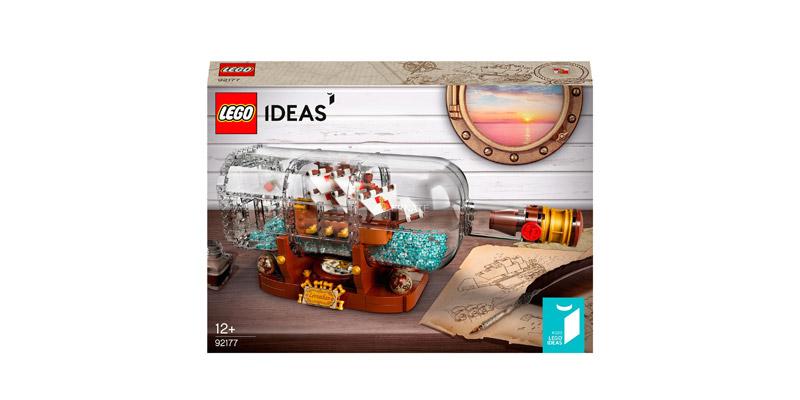 Lego Ideas Schiff in der Flasche
