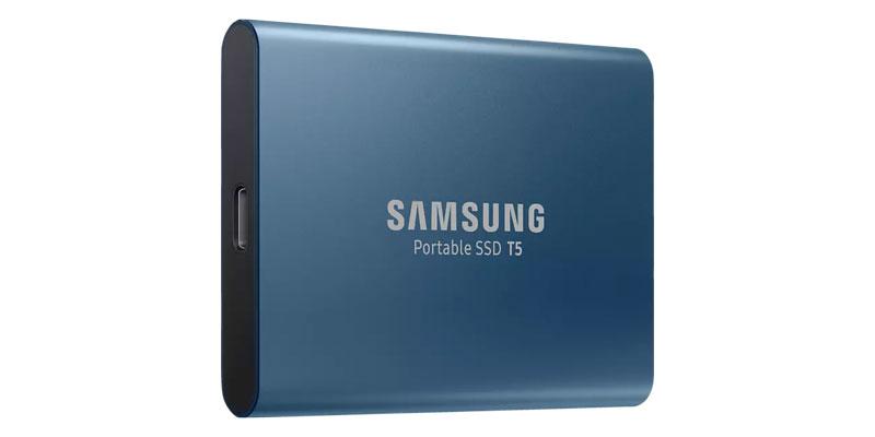 Samsung SSD T5 Festplatte