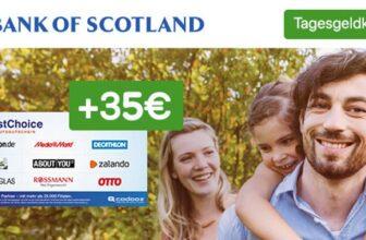Bank of Scotland Tagesgeldkonto