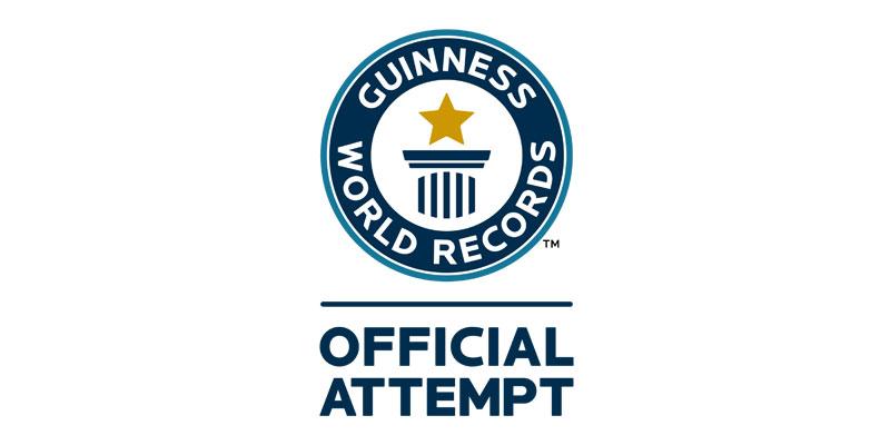 Guinness World Records Urkunde