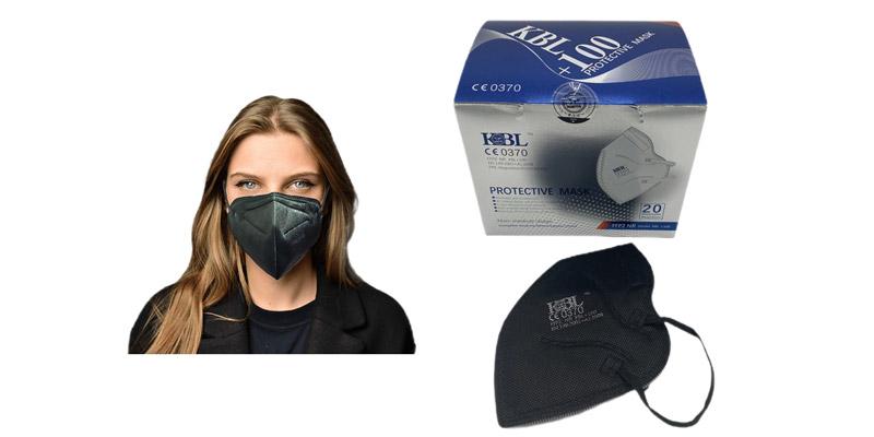 Schwarze FFP2 Masken