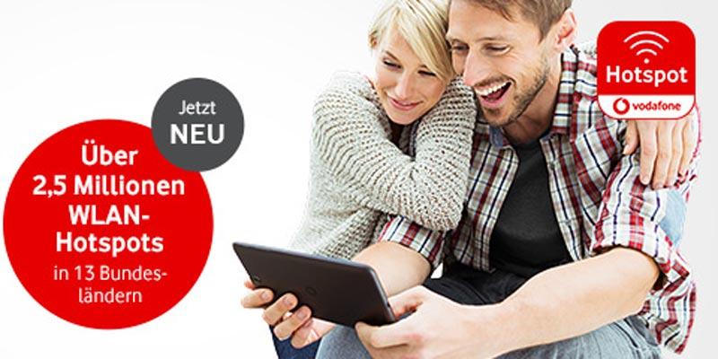 Vodafone Hotspot Tagesticket