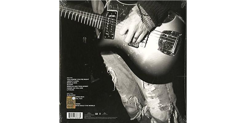 Nirvana Schallplatte