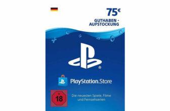 Playstation Store Guthaben