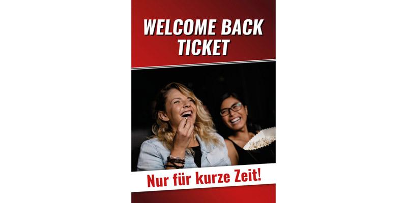 Kinopolis Welcome Back Ticket