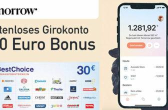 Tomorrow Girokonto
