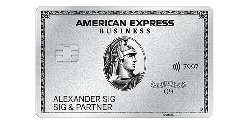 American Express Business Platinum Card + 8.8 Punkte