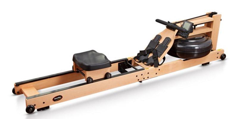 Body Coach Wasser Rudergerät aus Holz