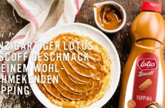 Lotus Biscoff Dessertsauce