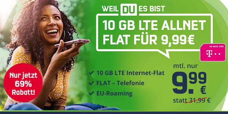 Telekom Green LTE 10 GB Tarif