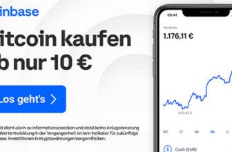 Coinbase Konto