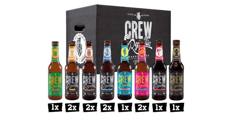 Gratis Kiste Crew Republic Bier