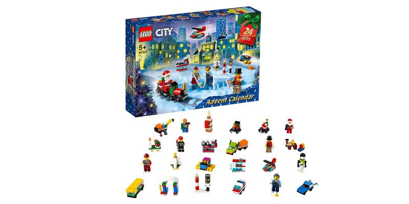 Lego City Adventskalender 2021