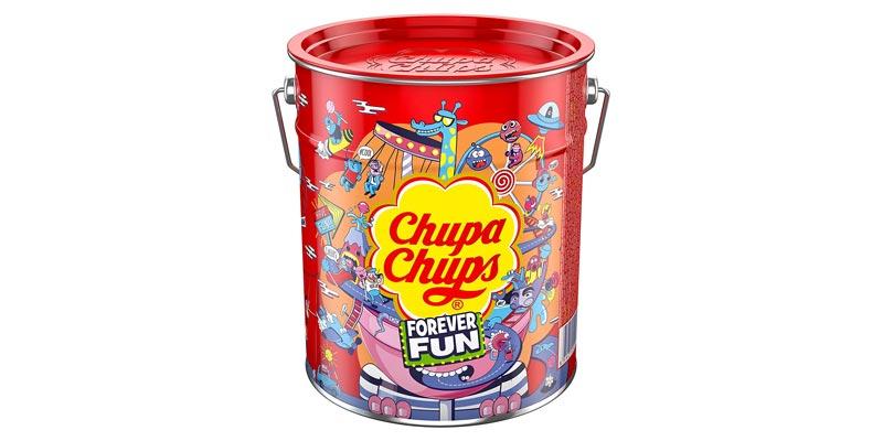 Chupa Chups Best of Lollipop Eimer