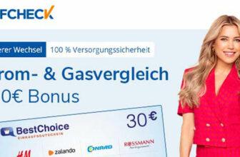 Tarifcheck Bonus-Deal