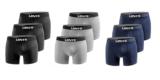3er Pack Levi's Boxershorts (Limited Black Edition) für 20,99€ bei Amazon