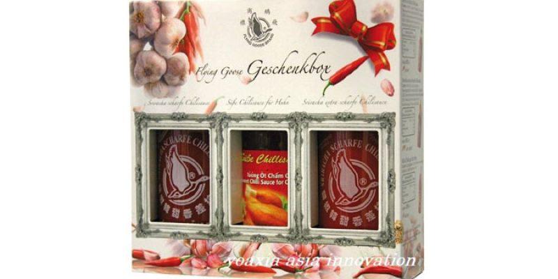 Flying Goose Sriracha Chillisaucen Geschenkbox für 7,98€