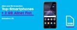 Huawei P8 Lite 2017 mit Blau Allnet L Vertrag für 14,99€/Monat