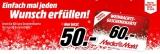 60€ Media Markt Weihnachts-Geschenkkarte für nur 50€!