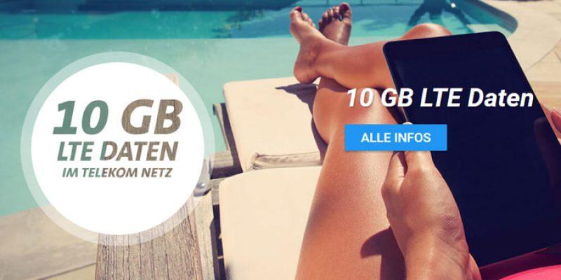 Telekom 10GB LTE Datenflat (Sim-only) + 120€ Saturn Gutschein für 9,99€/Monat [Black Week]