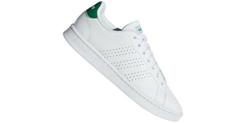 adidas Advantage Clean VS Sneaker (weiß/grün) für 47,96€