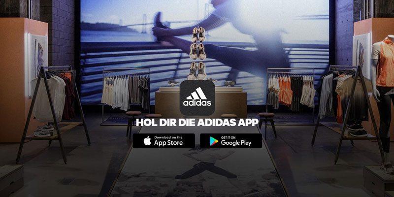 20% adidas App Gutschein auf alle Artikel oder 10% auf Sale