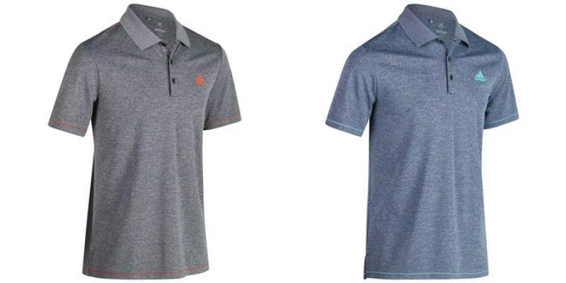 adidas Poloshirts Climacool (blau- oder grau-meliert) für 13,48€