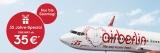 Airberlin Flüge One Way für 35€ oder Hin- und Rückflug für 70€!