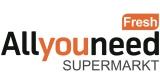 Online Supermarkt: 5€ AllyouneedFresh Newsletter Gutschein
