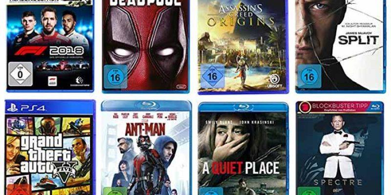 Amazon 3 für 2 Aktion auf Filme, Serien & Games