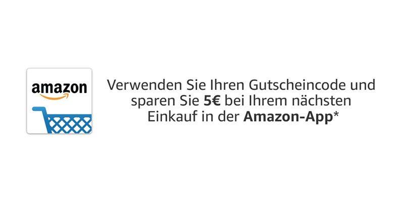 5€ Amazon Gutschein für Prime Kunden über Amazon App