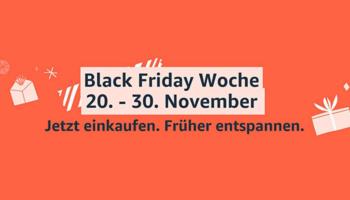 Amazon Black Friday Woche 2020 – Übersicht der besten Deals