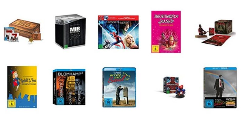 50€ Sofortrabatt auf DVDs oder Blu-rays bei Amazon ab 100€ Bestellwert