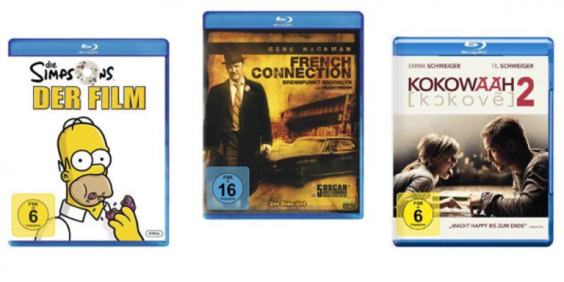 Amazon Aktion – 4 Blu-rays für 30€ oder 2 TV-Serien oder 6 DVDs für nur 20€!