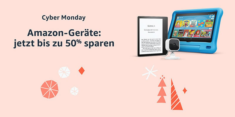 Amazon Cyber Monday 2020: Die besten Schnäppchen (z.B. Amazon Geräte)