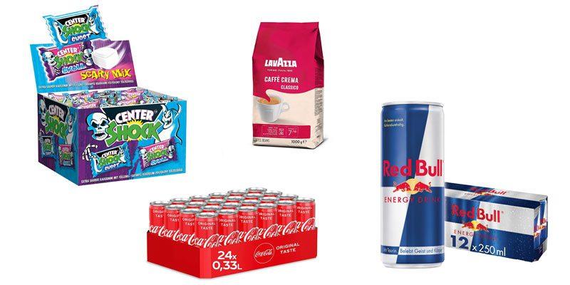 Amazon 4 für 3 Lebensmittel  Aktion: Nimm 4, zahl 3 – z.B. 4 kg Jacobs Barista Kaffeebohnen für 26,31€