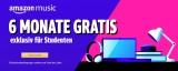 Amazon Music Studenten Angebot: 6 Monate kostenlos testen