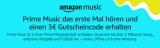 3€ Amazon Gutschein für erste Nutzung von Prime Music