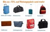 Reisekoffer und Reisetaschen mit bis zu 70% Rabatt!