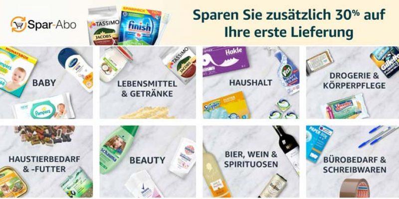 30% Amazon Sparabo Gutschein – Günstige Haushaltsartikel!