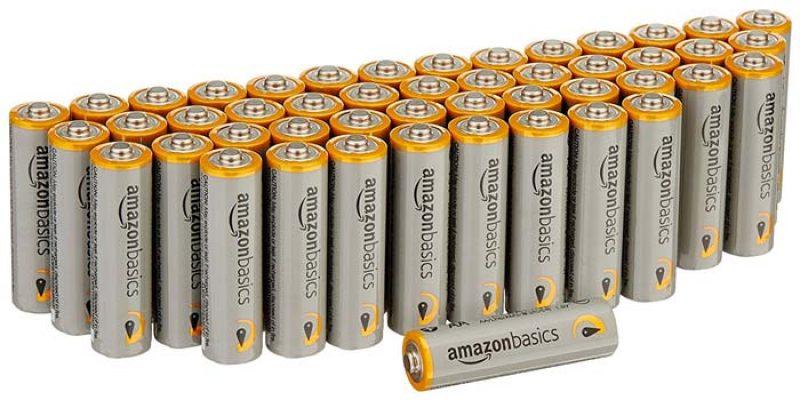 48x AmazonBasics Performance Batterien AA für 8,24€