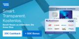 American Express Blue Card + 35€ Startguthaben + 50€ BestChoice-/ Amazon Gutschein (dauerhaft kostenlos)